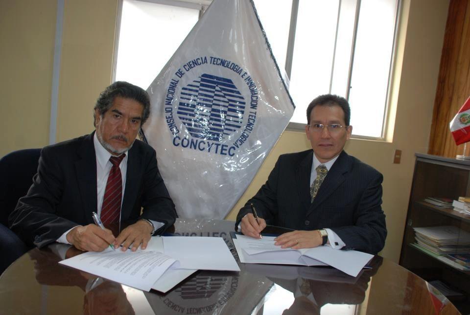 Convenio con el Consejo Nacional de Ciencia, Tecnología e Innovación Tecnológica CONCYTEC