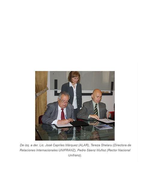 Convenio Interinstitucional con la Universidad Franz Tamayo (UNIFRANZ)